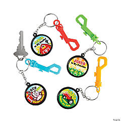 Barnyard Backpack Clip Key Chains