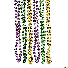 Barrel Mardi Gras Beads