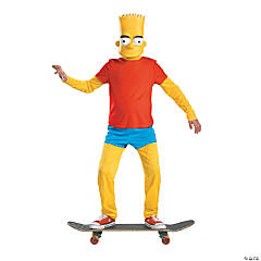 Bart Simpson Deluxe Boy's Costume