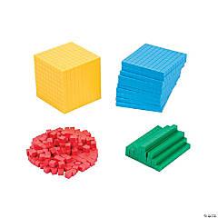 Base Ten Blocks Set