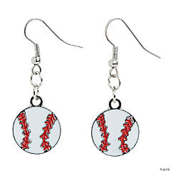 Baseball Earrings Craft Kit