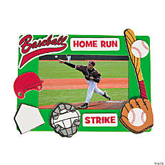 Baseball Picture Frame Magnet Craft Kit