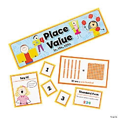 Basic Place Value Mini Bulletin Board Set