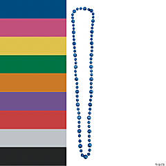 Basketball Beaded Necklaces