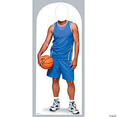 Basketball Cardboard Stand-In Stand-Up