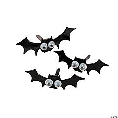 Bat Googly Eye Brads