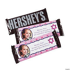 Bat Mitzvah Custom Photo Candy Bars