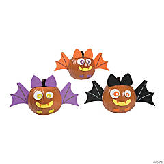 Bat Pumpkin Decorating Craft Kit