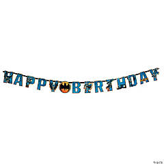 Batman Add-An-Age Birthday Paper Banner