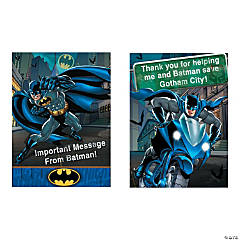 Batman Heroes Invitations/Thank You Cards