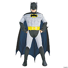 Batman Muscle Chest Costume for Boys