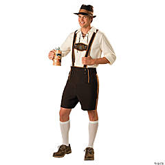 Bavarian Guy Plus Size Adult Men's Costume