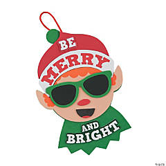 Be Merry & Bright Elf Sign Craft Kit