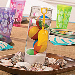 Beach Ball Centerpiece Idea