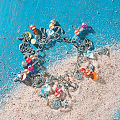 Beach Bum Charm Bracelet Idea