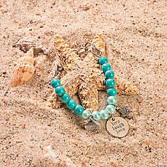 Beach Charm Bracelet Idea