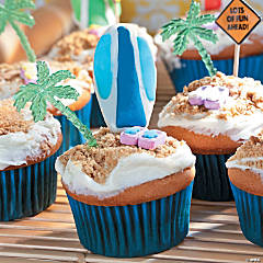 Beach Cupcakes Recipe