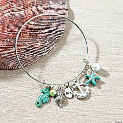 Beach Inspiring Charm Bracelet Idea