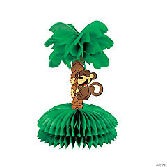 Beach Monkey & Tree Centerpiece