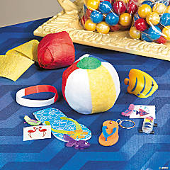 Beach Prize Ball Party Favor Idea