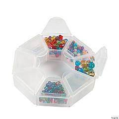 Beadalon® Round Compartment Organizer Box