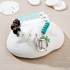 Beaded Beach Stretch Bracelet Idea