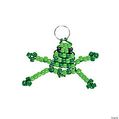 Beaded Frog Key Chain Craft Kit
