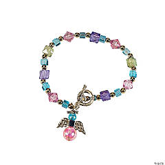 Beaded Guardian Angel Bracelet Craft Kit