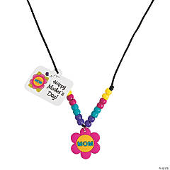 Beaded Mom Necklace Craft Kit
