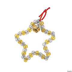Beaded Star Ornament Craft Kit