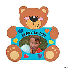 Beary Loved Picture Frame Magnet Craft Kit