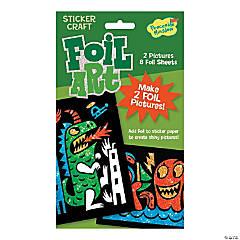 Beasts Foil Art Sticker Pack