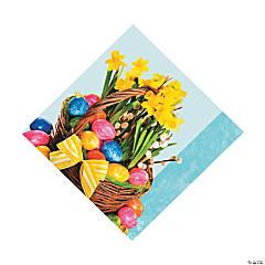 Beautiful Basket Luncheon Napkins