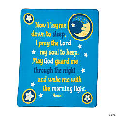 Bedtime Prayer Fleece Blanket