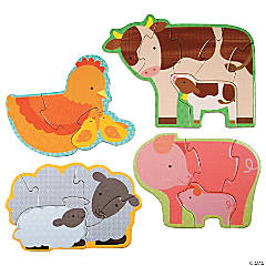 Beginner Puzzle: Farm Babies