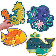 Beginner Puzzle: Ocean Babies