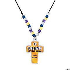 Believe in Jesus Necklace Craft Kit