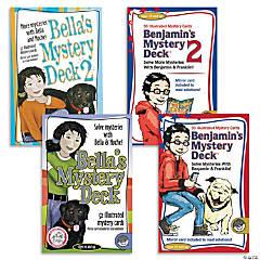 Bella's and Benjamin's Mystery Decks: Set of 4
