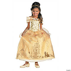 Belle Prestige Princess Costume for Girls