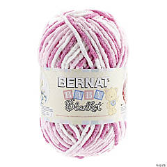 Bernat Baby Blanket Big Ball Pink Dreams 10.5oz