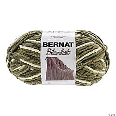 BERNAT BLANKET BIG BALL GATHERING MOSS