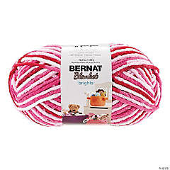 Bernat Blanket Big Ball- Raspberry Ribbon