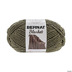 BERNAT BLANKET BIG BALL YARN-OLIVE