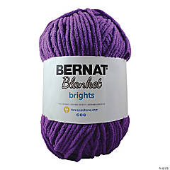 Bernat Blanket Brights Big Ball- Pow Purple