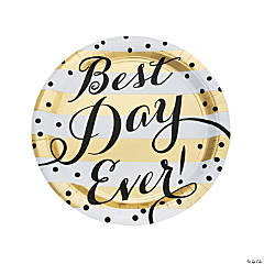 Best Day Ever Paper Dinner Plates