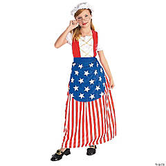 Betsy Ross Costume For Girls