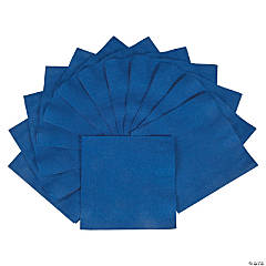 Beverage Napkins - Navy Blue