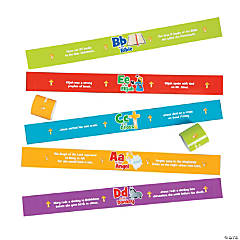 Bible ABC Reminder Bracelets