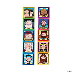 Bible Character Stickers