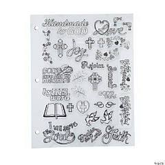 Bible Decorating Stamps